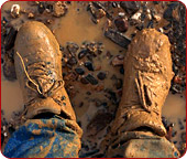 Bootstrap Business muddy boots